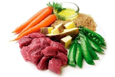 ingredientes de la receta casera