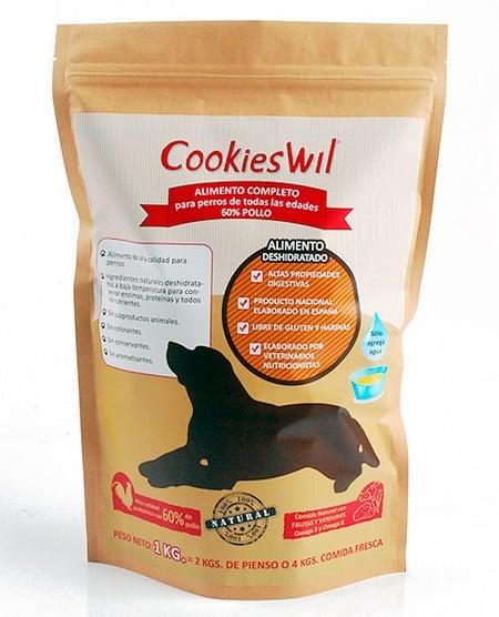 Saco de Cookieswil 60% pollo