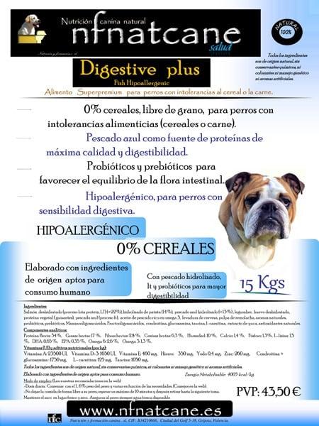 saco de Saco de NFNatcane digestive plus