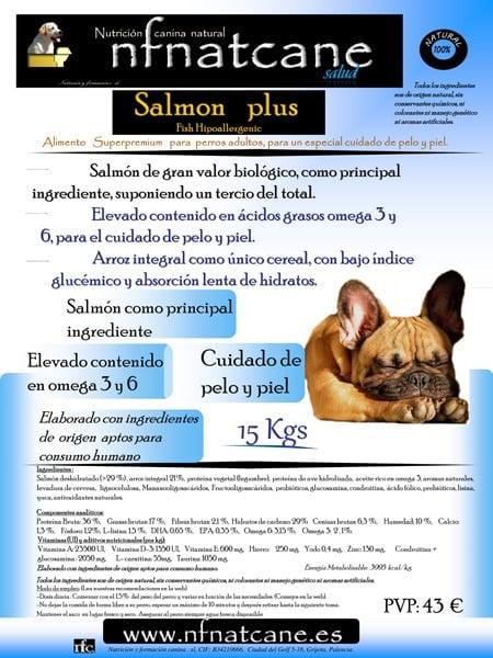 Saco de NFNatcane salud Salmón PLus