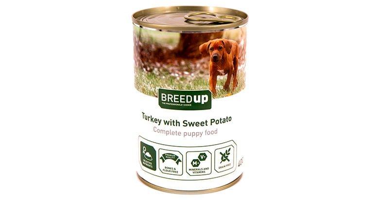 breedup lata de comida húmeda