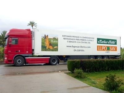 Camiones figroríficos luposan