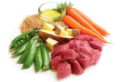 ingredientes dieta barf