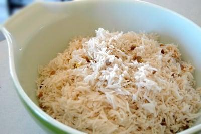 arroz hervido con pollo para perros
