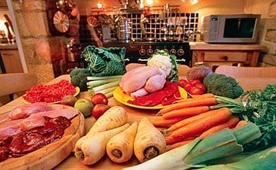 comida natural