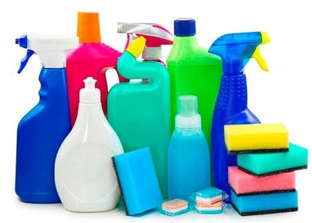 detergente y jabón