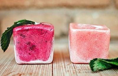 helado de fruta para perros