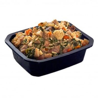 pollo y arroz de animal catering