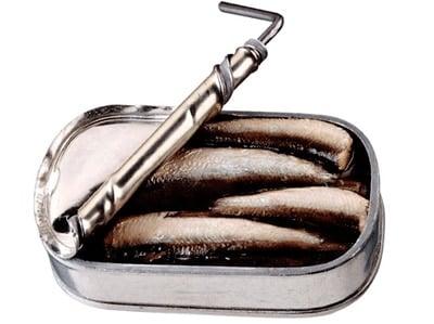 sardinas en lata