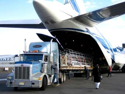 transporte internacional de pienso